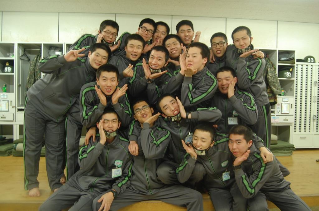 She_Da Kasim : Leeteuk Hyung in Military