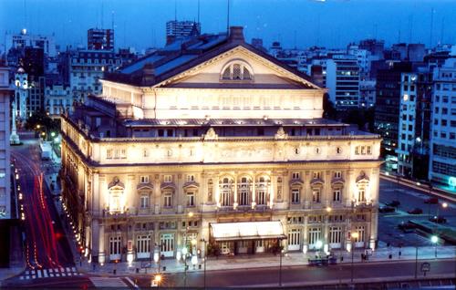 El Teatro Colón en Buenos Aires