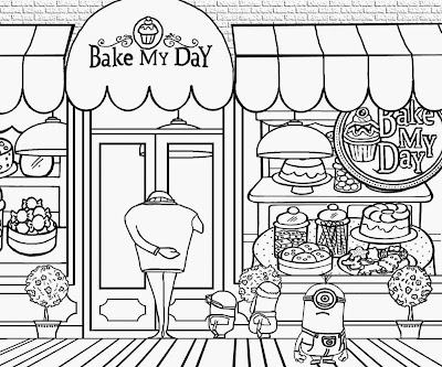 minions family coloring pages - photo#29