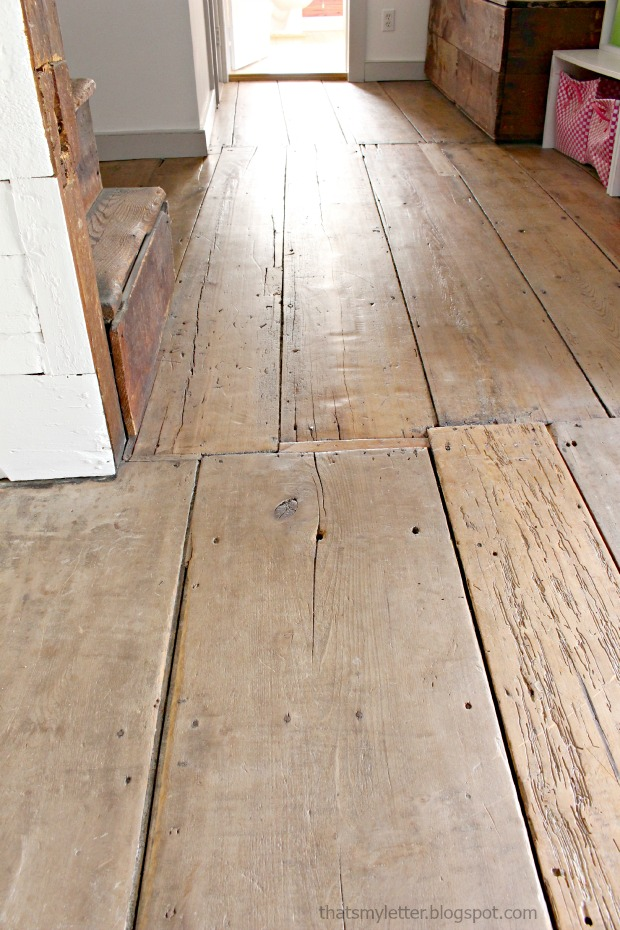 original wide planked floors antique farmhouse