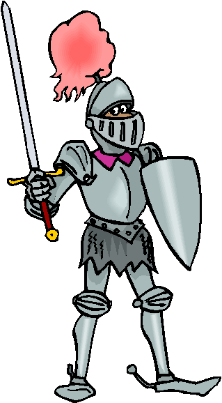 Armor Knight Free Clipart #2