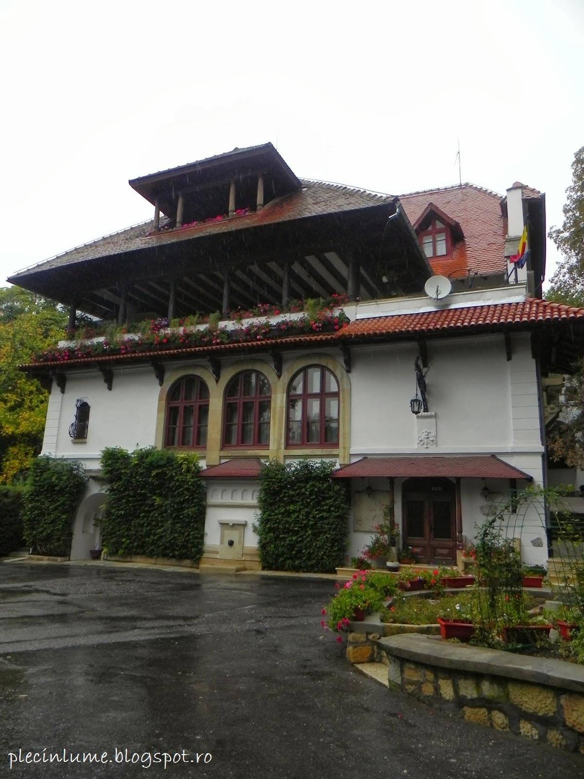 Conacul Bratienilor ( Vila Florica) din Stefanesti