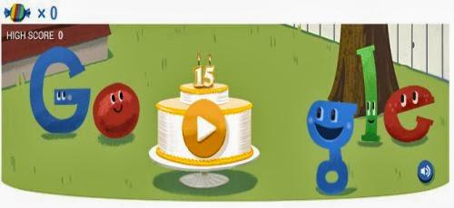 Google's 15th Birthday