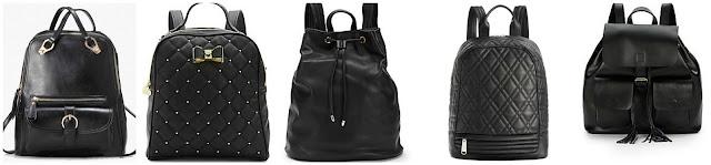 ChicNova Faux Leather Vintage Backpack $24.97 (regular $28.86)  Betsey Johnson Houdini Backpack $42.99 (regular $98.00)  Deux Lux Cruz Perforated Faux Leather Backpack $49.99 (regular $130.00)  Steve Madden Bharper Quilted Backpack $65.99 (regular $88.00)  KC Jagger Morgan Leather Backpack $82.99 (regular $235.00)