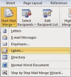 Mempermudah membuat undangan dengan menu Mailings di Microsoft Word 2010