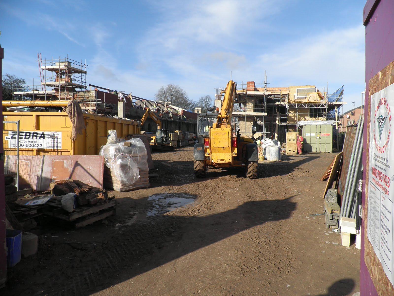 Workmen in Gosport Station
