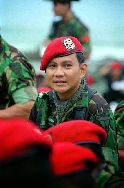 Prabowo Subianto jaman dulu