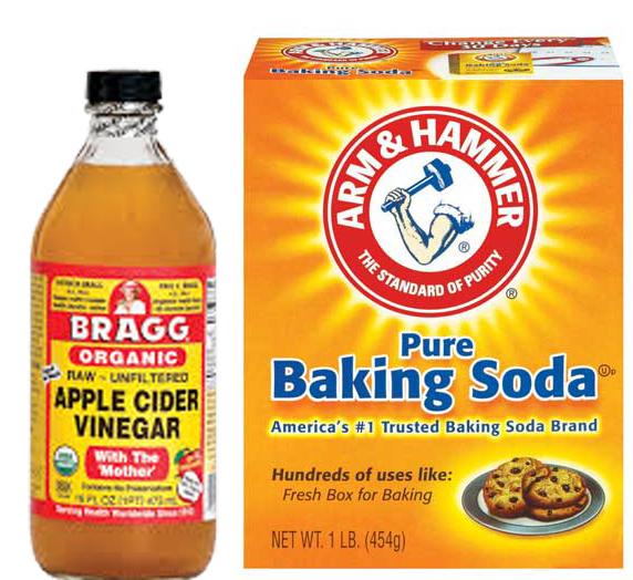 -: Natural Beauty: Baking Soda and Apple Cider Vinegar ...