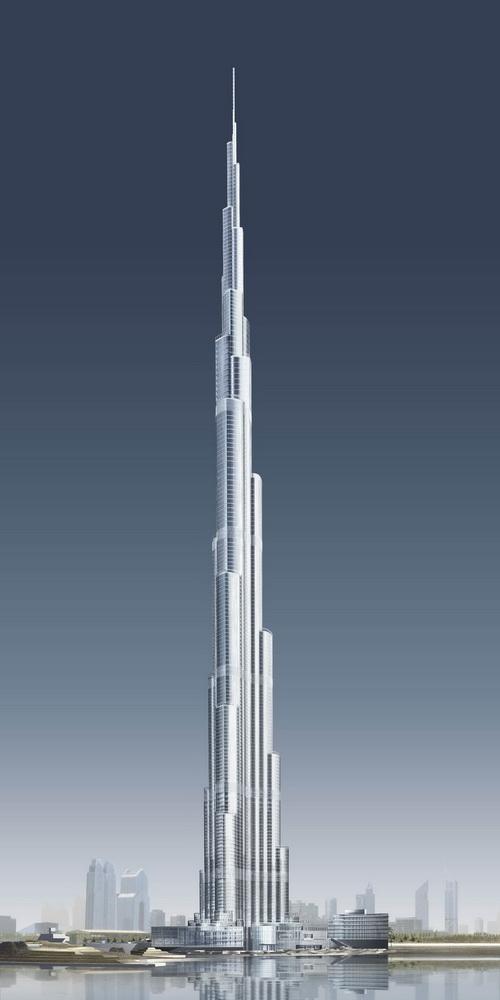 Kallerip Mega Constructions Burj Al Khalifa Burj Dubai