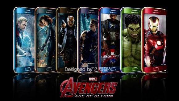 Avengers Temalı S6'lar