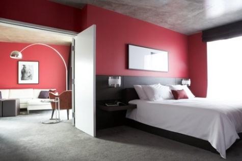 Dise o de dormitorios de color rojo decorar tu habitaci n for Disenos para habitaciones