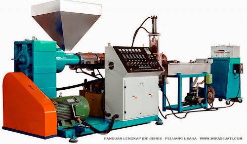 mesin daur ulang plastik, mesin daur ulang limbah plastik