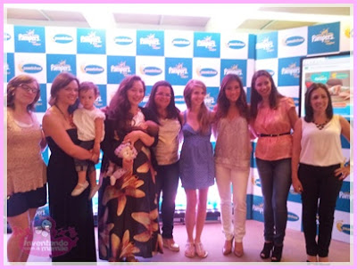 Daniele Suzuki  no evento da Pampers