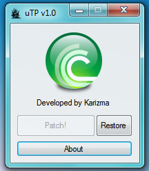 QTd4TqY Baixar UTorrent Patch v1.0 [Speed Up Download Speed]