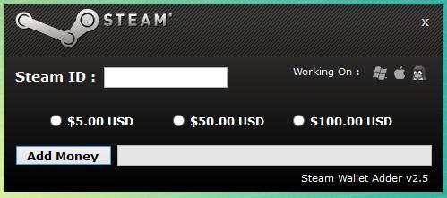 steam wallet code generator no survey no password