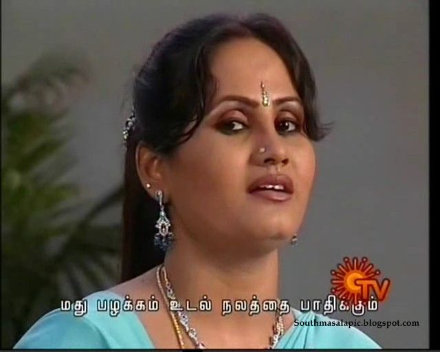 South Masala Pic Album: Tamil Serial TV Aunty Series 1