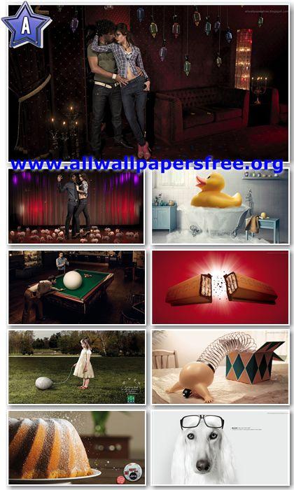 80 Amazing Creative Advertising Wallpapers 1366 X 768