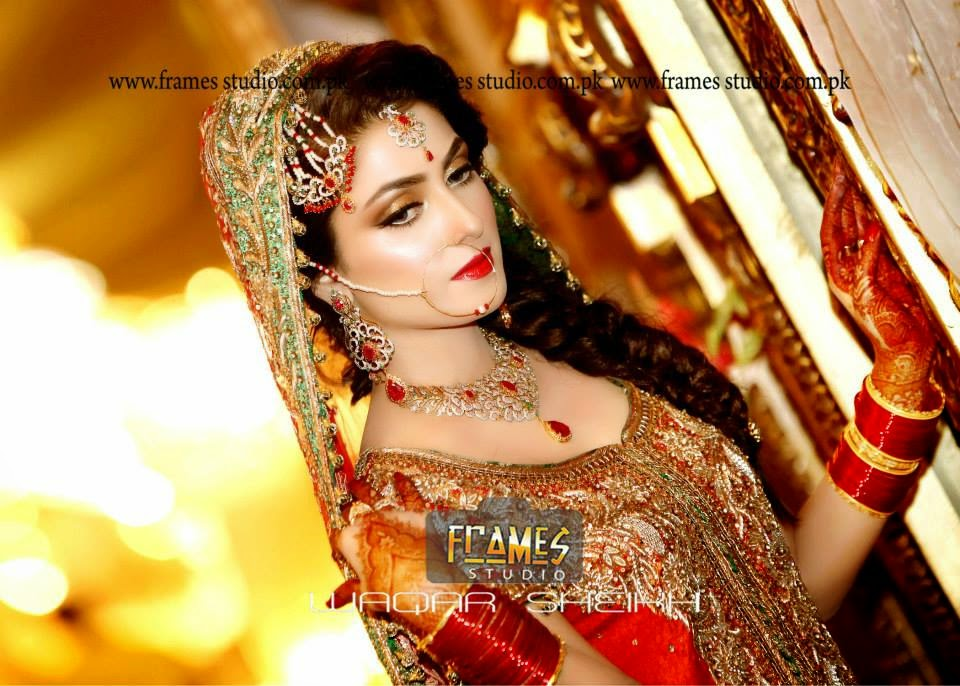 Aiza Khan And Danish Wedding Pics Barat Special Just Bridal