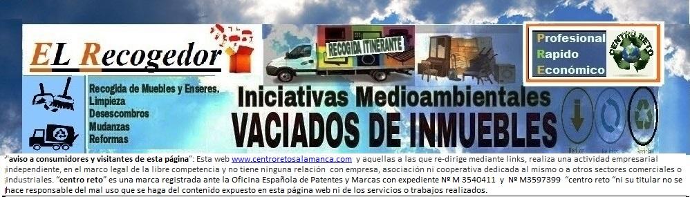 RECOGIDA DE MUEBLES Y VACIADOS SALAMANCA