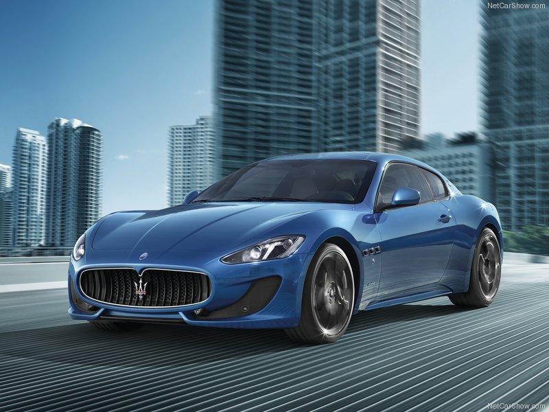 Gambar Maserati GranTurismo Sport 2013