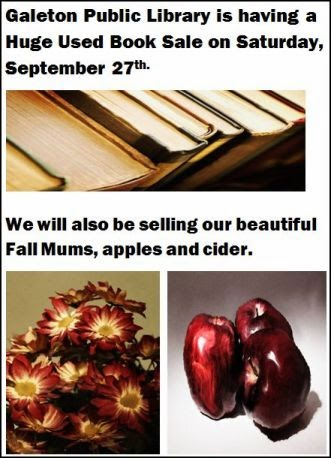 9-27 Galeton Library Sale