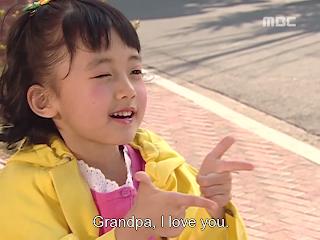"Salah satu babak lakonan budak cute nieh dalam ""Wonderful Life"""