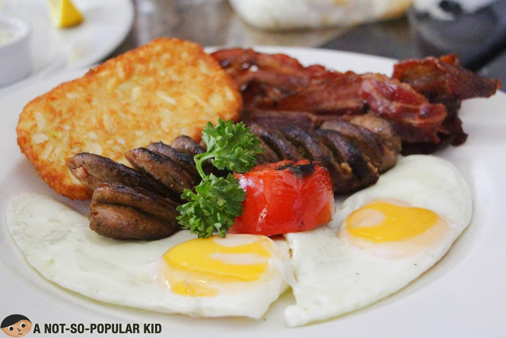 Big Breakfast dish of Dillinger's 1903