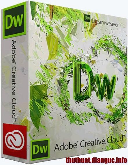 Download Adobe Dreamweaver CC Full Crack – Phần mềm thiết kế web chuyên nghiệp