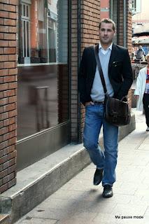 mode homme urbain chic Toulouse Paris