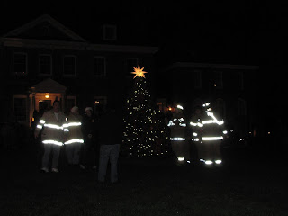 Bowie,Maryland,Christmas Tree Lighting,Belair Mansion,Bowie Volunteer Fire Department,Christmas Tree