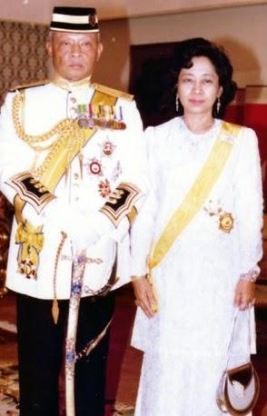 Yang Di Pertuan Agong dan Raja Permaisuri Agong Ketujuh