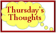 simply  shoe boxes thursday's Thoughts