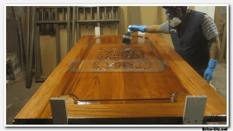 Como pintar puertas de madera nuevas y antiguas web del for Como hacer una puerta de madera para exterior