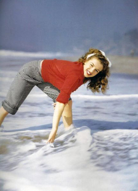 Norma Jeane antes de convertirse en Marilyn Monroe