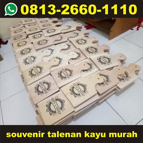 souvenir talenan kayu murah
