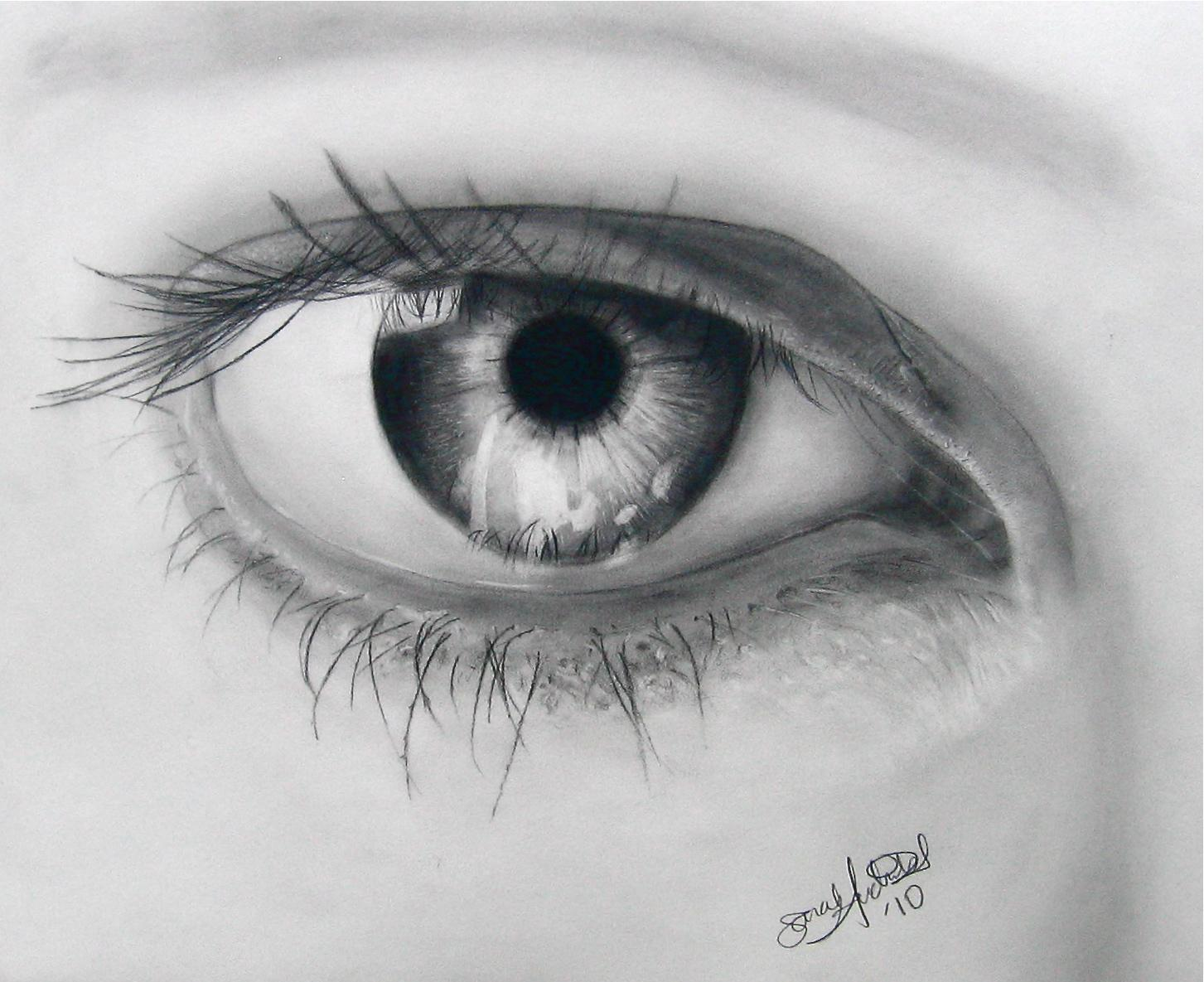 Eye Drawing ~ 3D Drawing
