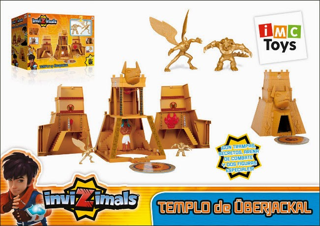 JUGUETES - INVIZIMALS - Templo de Uberjackal  Producto Oficial | IMC Toys 30084 | A partir de 3 años