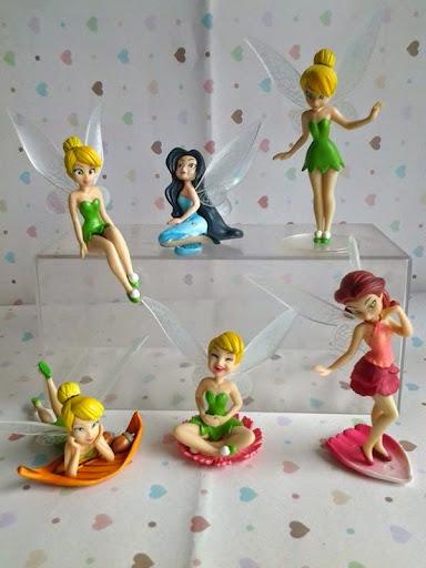 Action figure; tinkerbell collections; miniatur; pernak pernik; pajangan; aksesoris