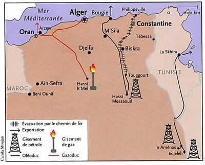 فرنسا والنفط الجزائري