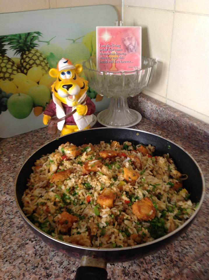 Recipes from my kitchen fish fried rice for Fish and rice recipes