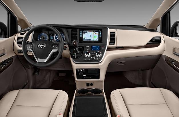 2017 Toyota Sienna Hybrid Redesign