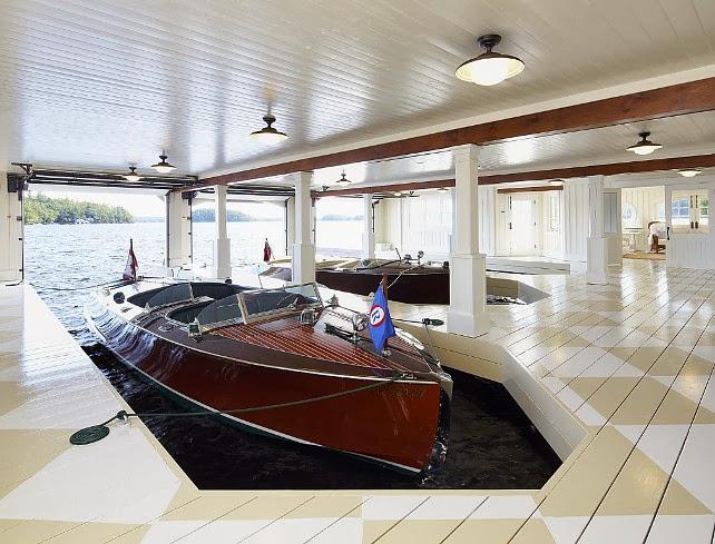 Fabulous boathouse/lulu klein