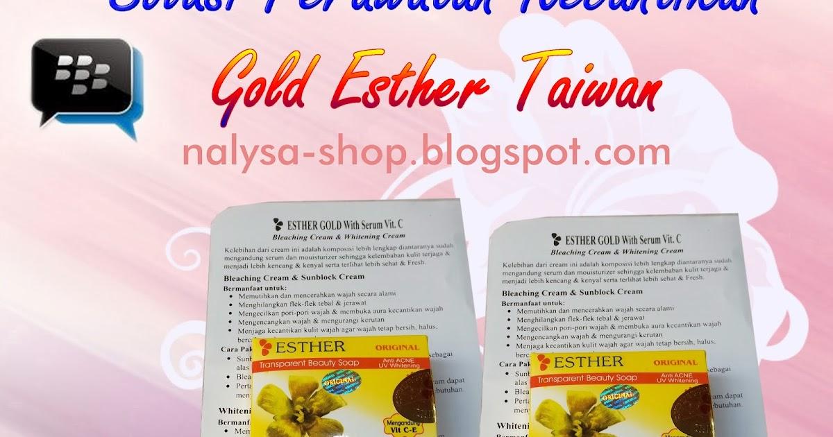 Pemutih Gold Esther