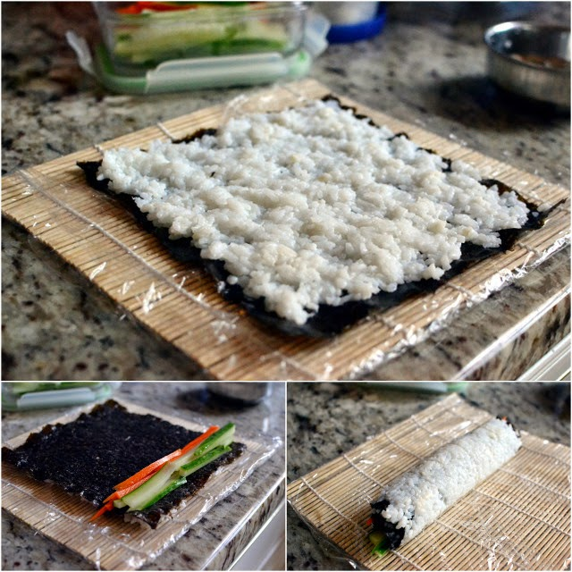 California Sushi Roll Pictorial