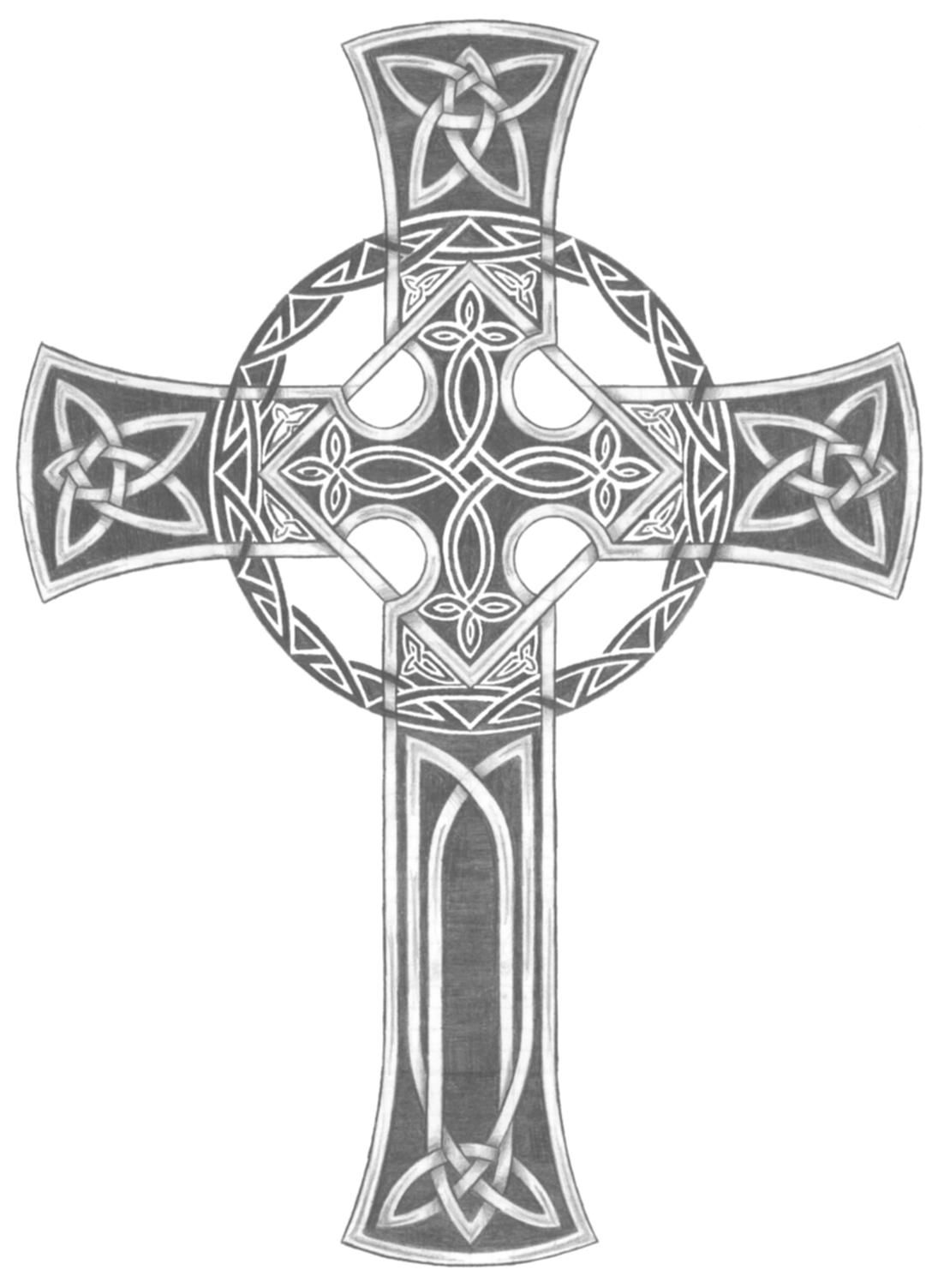 Wallpaper wallpaper celtic cross for Pics of celtic cross tattoos