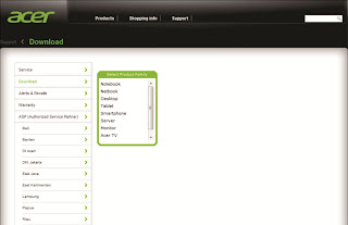 Download Driver Acer Windows Xp, Windows 7 dan Vista Lengkap