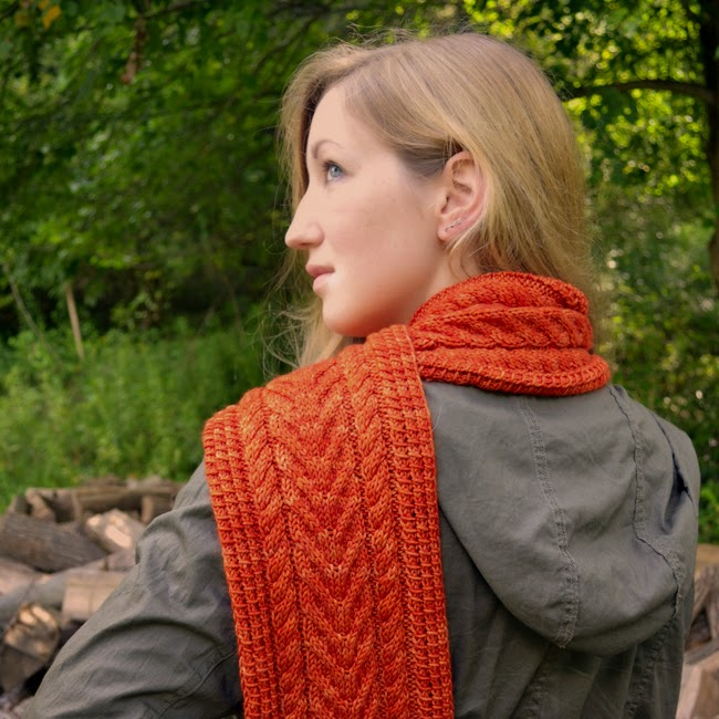 Cider Press Scarf