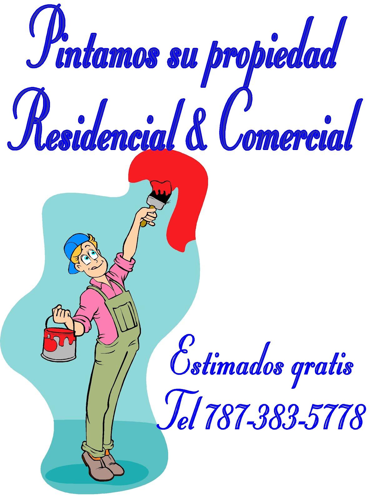 Pintamos su propiedad, Residencial, Comercial & Industrial