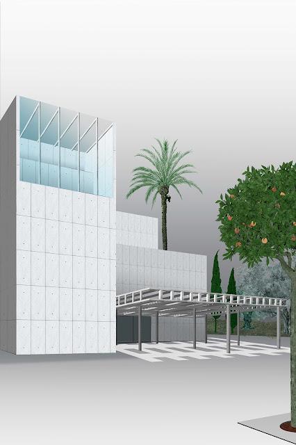 museo, valencia, ilustracion, entrada