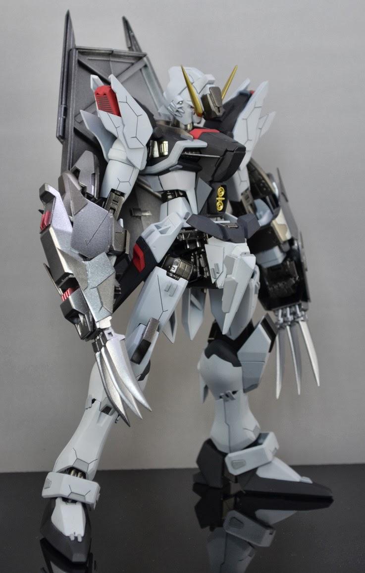 Gundam guy mg 1 100 destiny gundam 39 gray kill 39 custom build for Designer builders